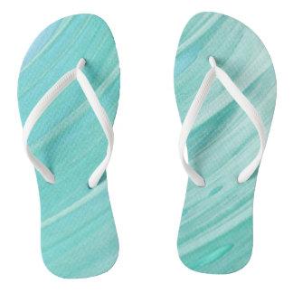 Sea side flip flops