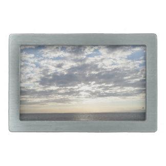 Sea & Sky & Clouds Belt Buckle
