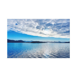 Sea | Sky | Mountains | Ocean Canvas Print