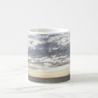 Sea & Sky White Coffee Mug