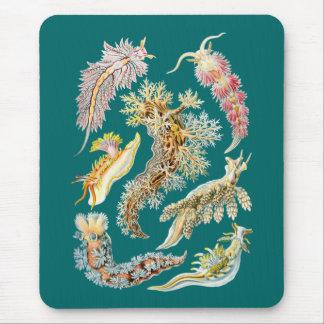 Sea slugs mouse pad