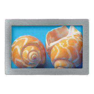 Sea Snails Rectangular Belt Buckle