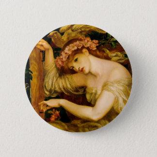 Sea Spell by Dante Gabriel Rossetti 2 Inch Round Button