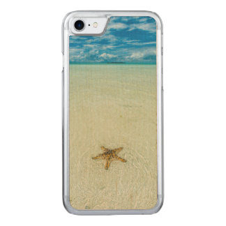 Sea star in shallow water, Palau Carved iPhone 7 Case