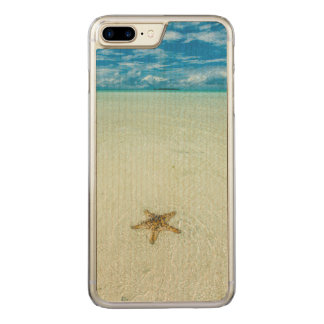 Sea star in shallow water, Palau Carved iPhone 7 Plus Case