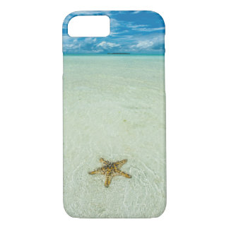 Sea star in shallow water, Palau iPhone 7 Case