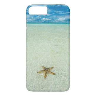 Sea star in shallow water, Palau iPhone 7 Plus Case
