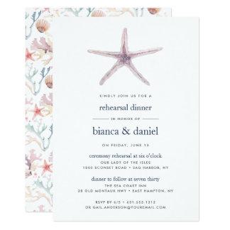 Sea Star | Rehearsal Dinner Invitation