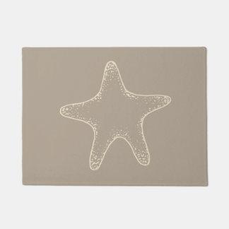Sea Starfish Beach Doormat Welcome Mat Rug Gift