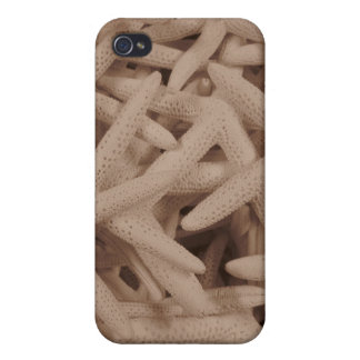 Sea Stars Hard Shell Case for iPhone 4