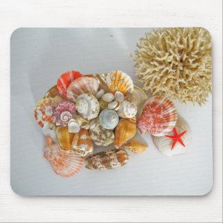 Sea stuff mousepad
