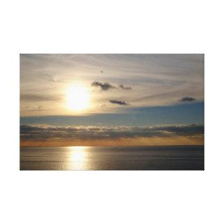 Sea & Sun Canvas Print