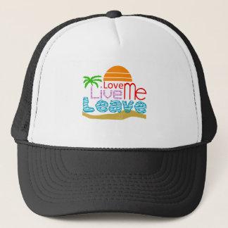 Sea sun coils trucker hat