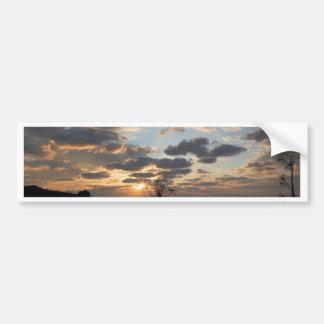 Sea Sunset Bumper Sticker
