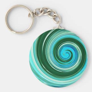 Sea Swirl Custom Keychains to Personalize!