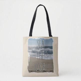 Sea The USA Epic Beach Style Tote Bag