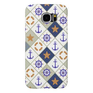 Sea Theme Pattern 2 Samsung Galaxy S6 Cases
