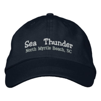 Sea Thunder Embroidered Hat