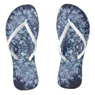 Sea tones flip flops