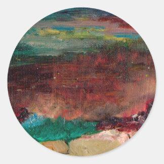 Sea Treasure Round Sticker