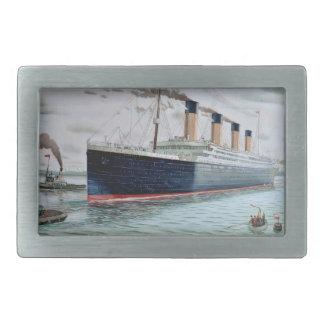 Sea Trials of RMS Titanic Belt Buckle
