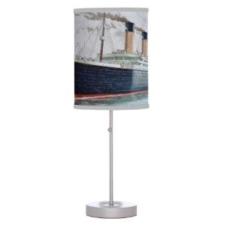 Sea Trials of RMS Titanic Desk Lamps