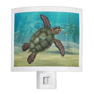 Sea Turtle Art Nightlight Nite Light