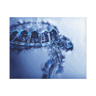 Sea Turtle Art - prints-Posters-Framed-Turtle-Art Canvas Print