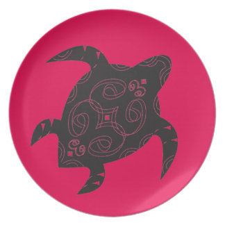 Sea Turtle Belly Party Plate