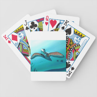 Sea Turtle Bicycle Playing Cards