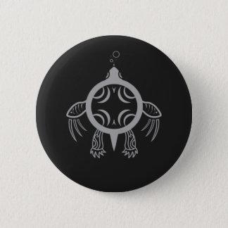 Sea Turtle Bubbles 2 Inch Round Button