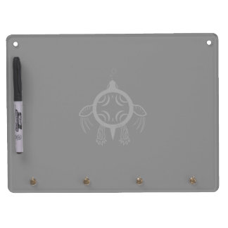 Sea Turtle Bubbles Dry Erase Board With Keychain Holder