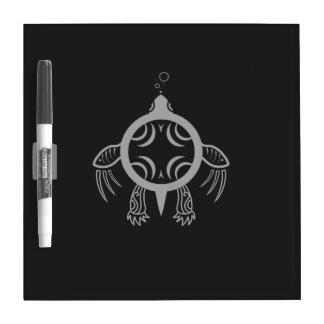 Sea Turtle Bubbles Dry-Erase Whiteboards