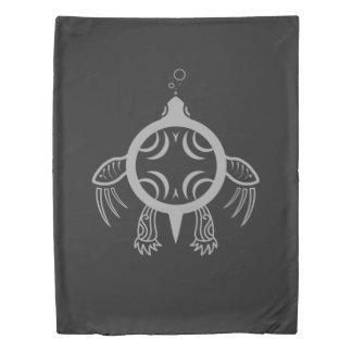 Sea Turtle Bubbles Duvet Cover