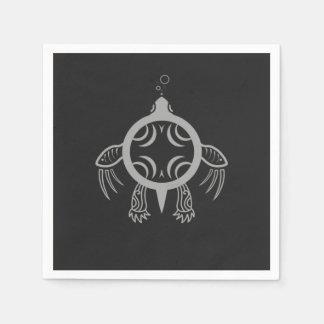 Sea Turtle Bubbles Paper Napkin