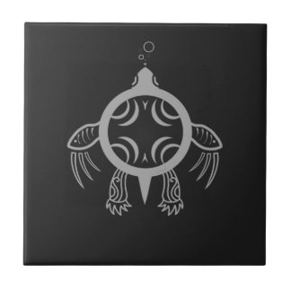 Sea Turtle Bubbles Tile
