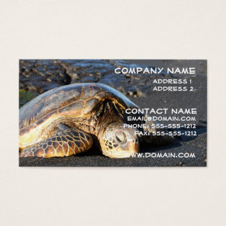 Sea Turtle Business Card
