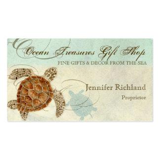 Sea Turtle Coastal Beach - Business Cards