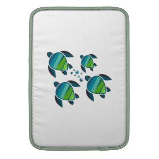 SEA TURTLE FAMILY MacBook SLEEVES