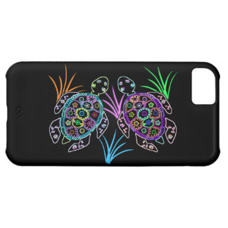 Sea Turtle Glow iPhone 5C Covers