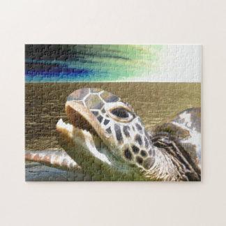 Sea turtle jigsaw puzzle