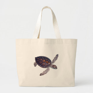 SEA TURTLE LARGE TOTE BAG