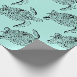 Sea Turtle Lineart Design