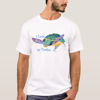 Sea Turtle Love a Turtle T-Shirt