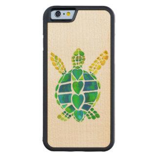 Sea Turtle Love on Maple Maple iPhone 6 Bumper