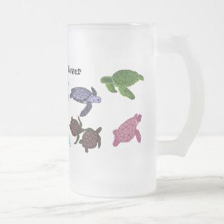 Sea turtle lover mug