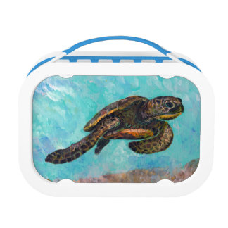 Sea Turtle Lunch Box
