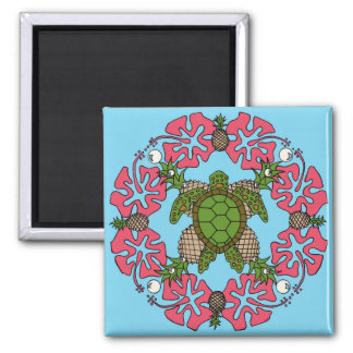 Sea Turtle Mandala- Magnet
