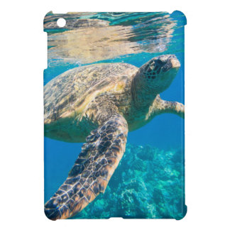 Sea Turtle, Marine Turtle, Chelonioidea, reptile iPad Mini Cover