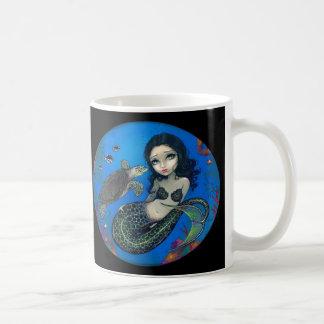 """""""Sea Turtle Mermaid"""" Mug"""